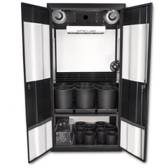 Grow Cabinents - SuperCloset Deluxe 3.0 LED Soil Grow Cabinet