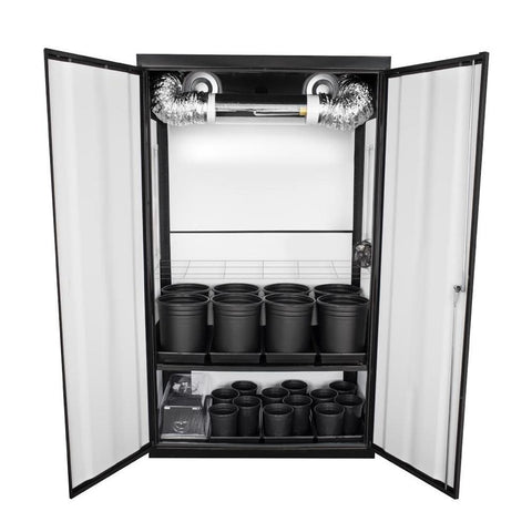 Grow Cabinents - SuperCloset SuperNova HPS Soil Grow Cabinet