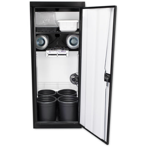 Grow Cabinents - SuperCloset SuperStar 3.0 LED Soil Grow Cabinet