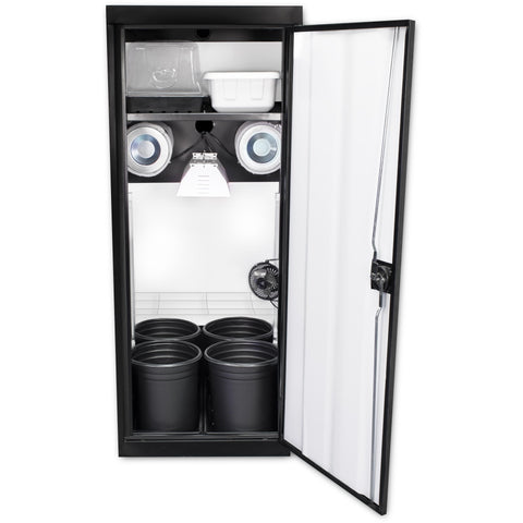 Grow Cabinents - SuperCloset SuperStar HPS Soil Grow Cabinet