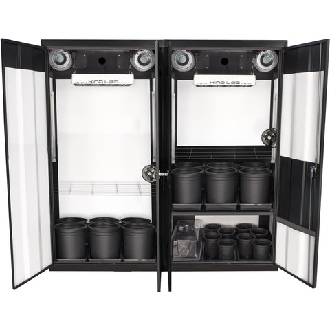 Grow Cabinents - SuperCloset Trinity 3.0 LED Soil Grow Cabinet