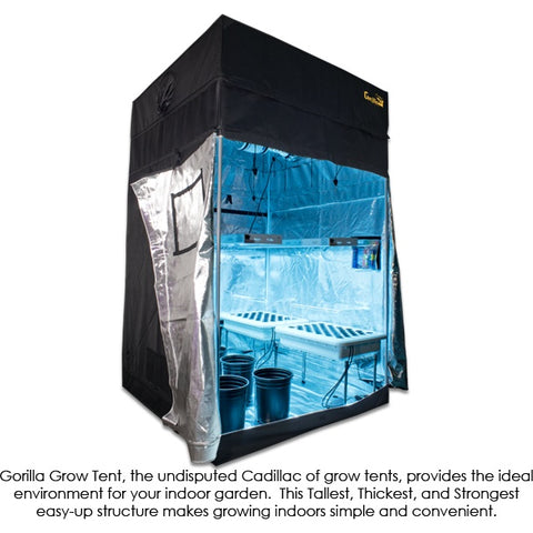 Grow Rooms - SuperCloset 5′ X 5′ Super Clone Grow Room