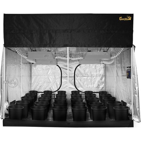 Grow Rooms - SuperCloset SuperRoom 9′ X 9′ HPS Soil Grow Room