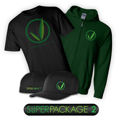 Packages - SuperCloset Apparel Package