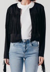 Black Tassel Jacket