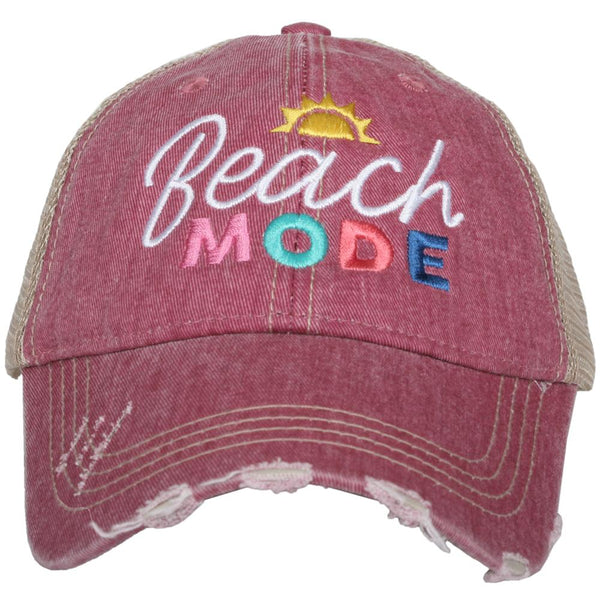Beach Mode Trucker Hat