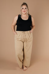 Transitions Cropped Pants In Sand