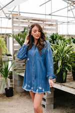 Artist's Loft Denim Button Down