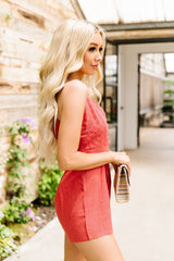 First Place Lace Romper