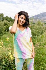 Mint Tie Dye Lounge Top