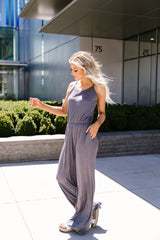 The Every Girl Jumpsuit In Charcoal