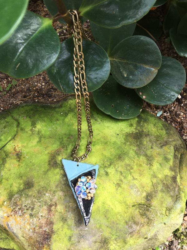 Blue Shard Necklace