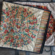Floral Huipil Table Runner