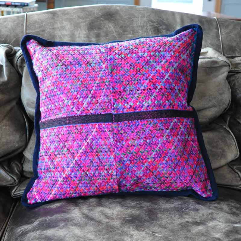 Fuchsia Diamond Pillow Case