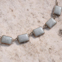 Gray Jade Necklace