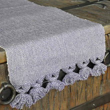 Organic Purple Table Runner