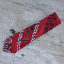 Red Mayan Fabric Tie