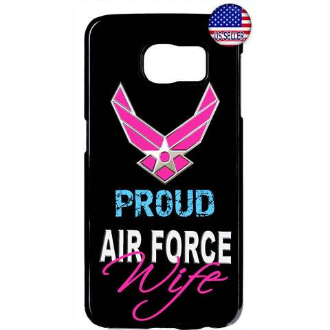 Proud US Air Force Wife United States Rubber Case Cover For Samsung Galaxy
