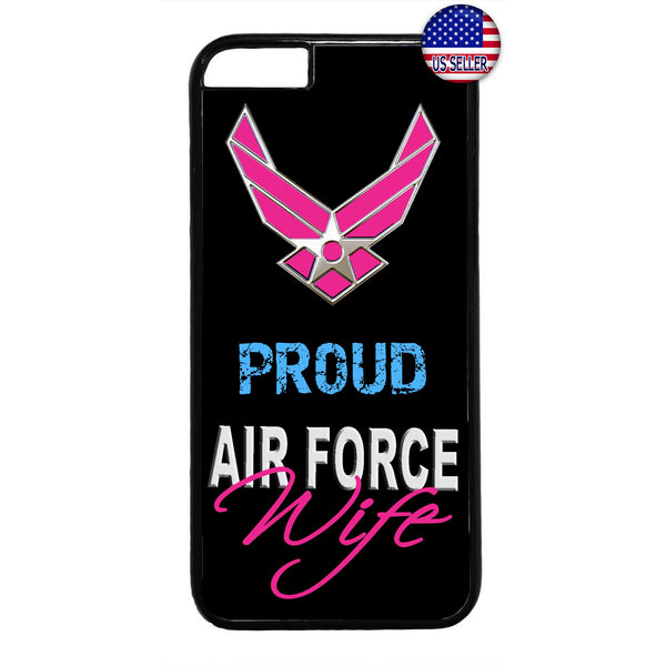 Proud US Air Force Wife United States Rubber Case Cover For Iphone