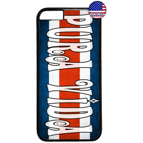 Costa Rica Flag Pura Vida Tico Pride Rubber Case Cover For Iphone