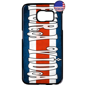 Costa Rica Flag Pura Vida Tico Pride Rubber Case Cover For Samsung Galaxy