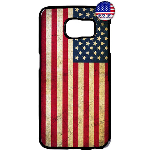 USA Flag Grunge Stars & Stripes United States Rubber Case Cover For Samsung Galaxy