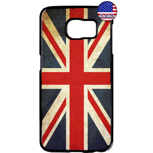 Great Britain Flag England UK British Pride Rubber Case Cover For Samsung Galaxy