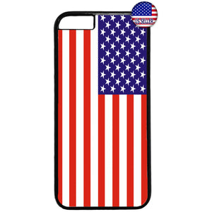 USA American Flag Pride United States Rubber Case Cover For Iphone