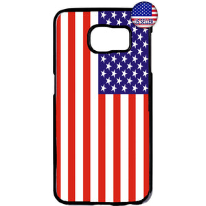 USA American Flag Pride United States Rubber Case Cover For Samsung Galaxy