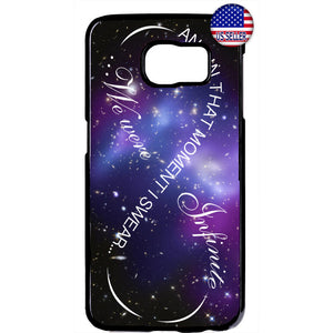 Galaxy Nebula We Were Infinite Love Rubber Case Cover For Samsung Galaxy Note