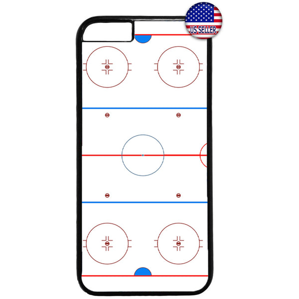 Ice Hockey Ring Sports Puck Skating Rubber Case Cover For Iphone
