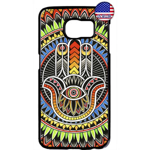 Mandala Evil Eye Henna Hipster Rubber Case Cover For Samsung Galaxy