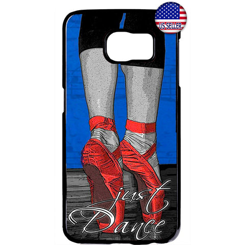 Red Ballerina Shoes Dance Rubber Case Cover For Samsung Galaxy Note