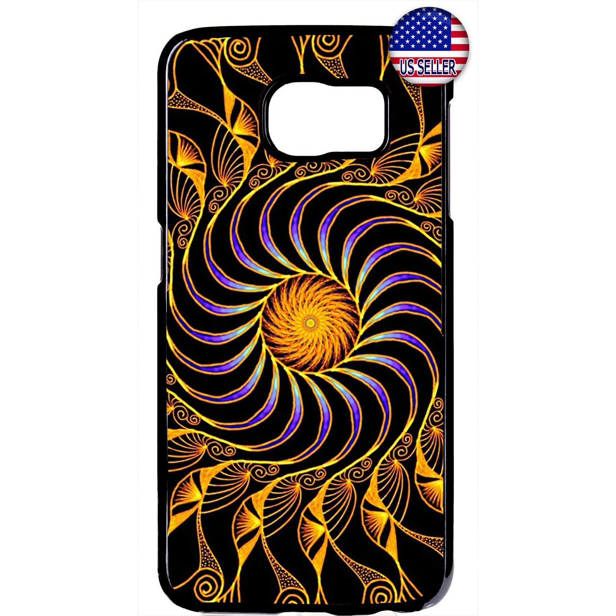 Fancy Mandala Design Beautiful Henna Rubber Case Cover For Samsung Galaxy Note