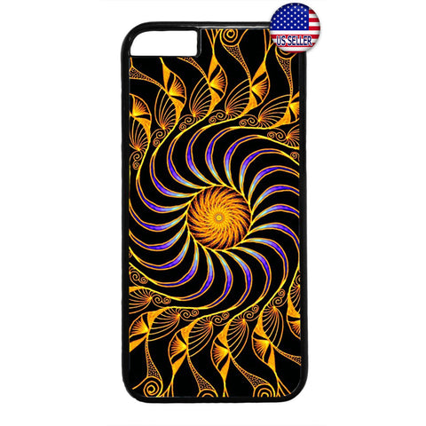 Fancy Mandala Design Beautiful Henna Rubber Case Cover For Iphone