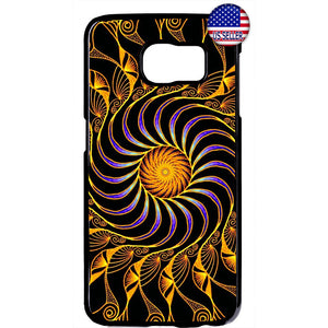Fancy Mandala Design Beautiful Henna Rubber Case Cover For Samsung Galaxy