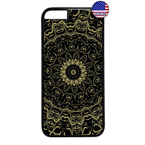 Hipster mandala Floral Lotus Rubber Case Cover For Iphone