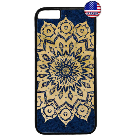 Lotus Mandala Hipster Beautiful Henna Rubber Case Cover For Iphone