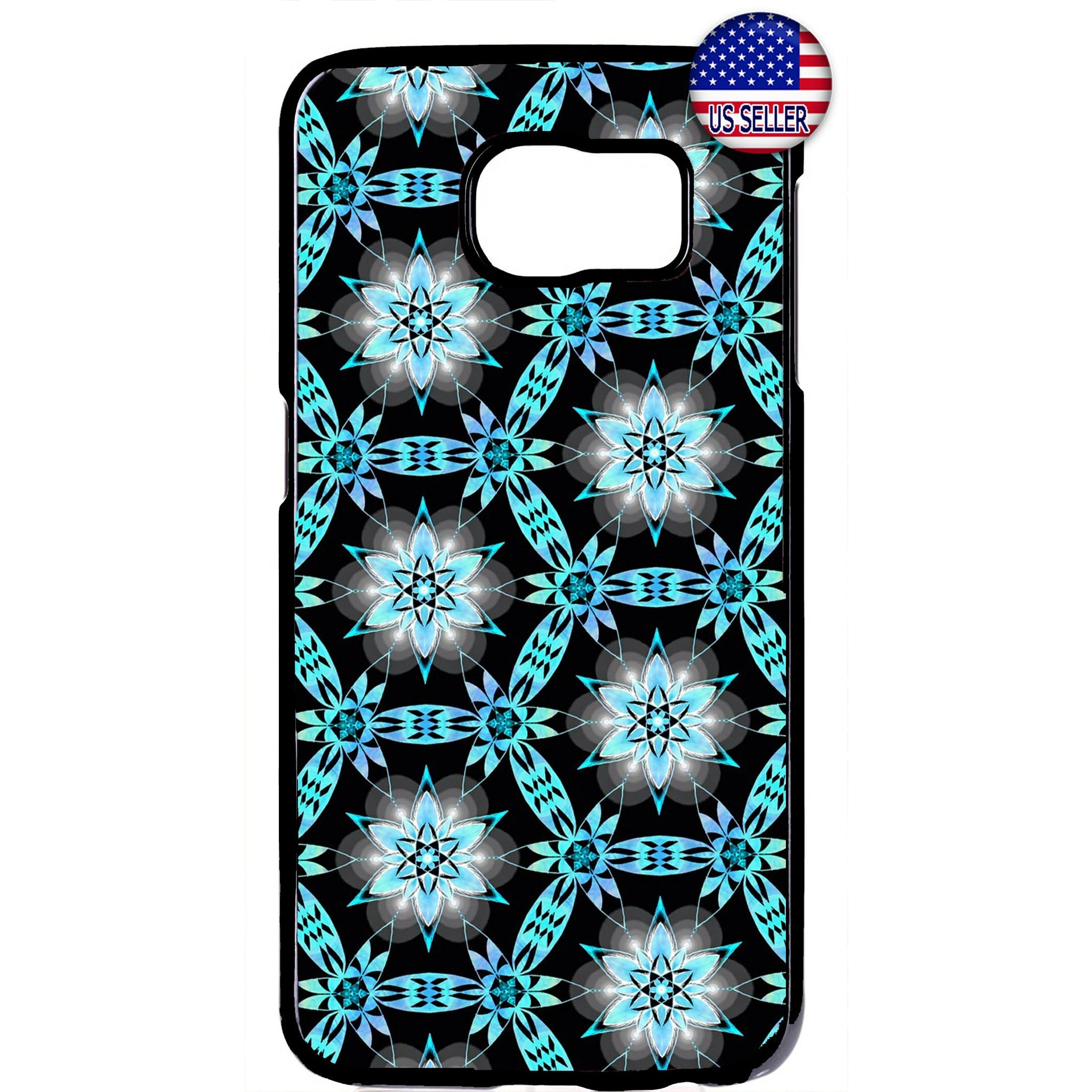 Modern Flower Art Lotus Garden Rubber Case Cover For Samsung Galaxy Note