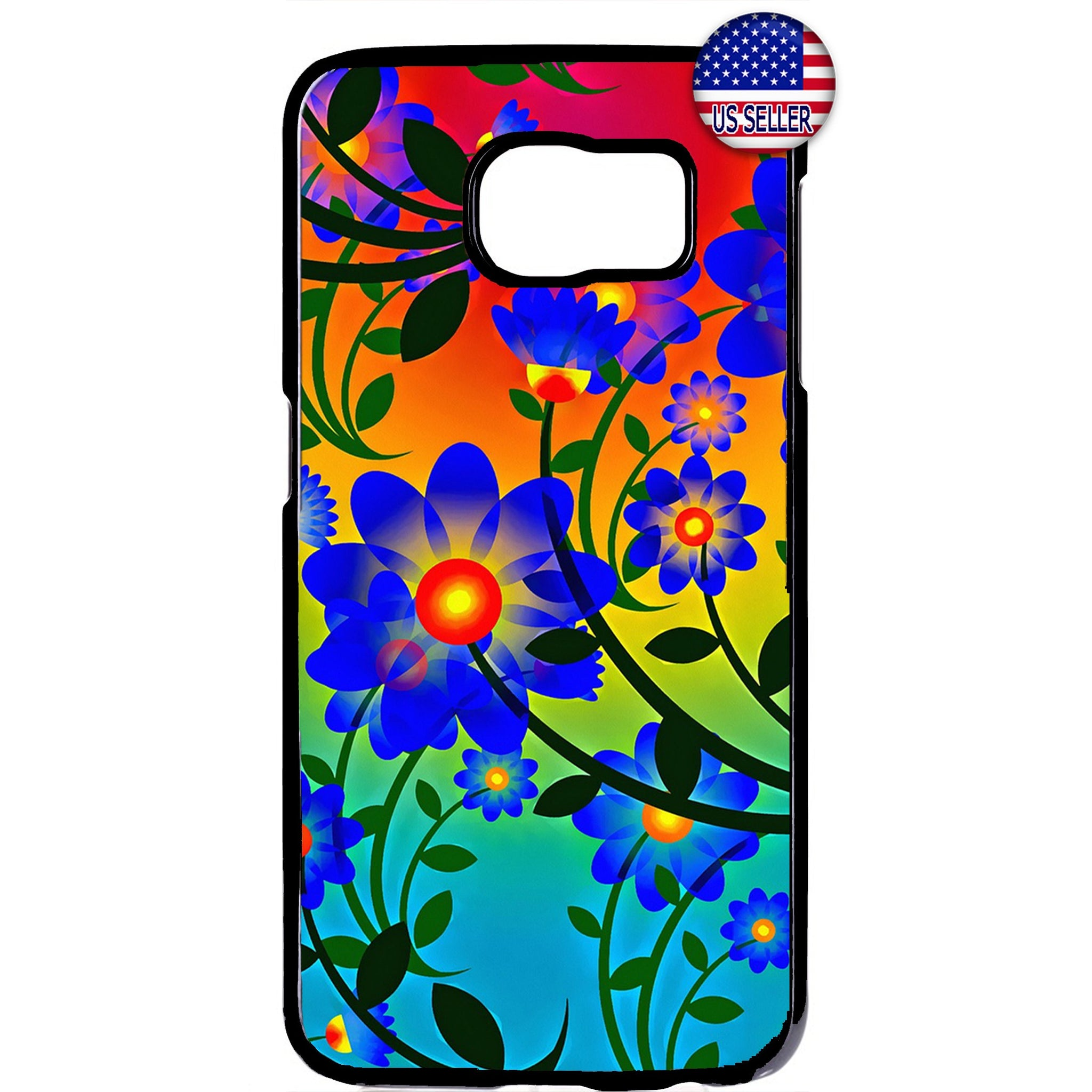 Tropical Summer Flowers Garden Rubber Case Cover For Samsung Galaxy Note