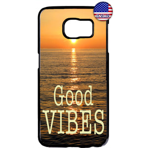 Beach Life Good Vibes Rubber Case Cover For Samsung Galaxy Note
