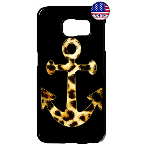 Leopard Anchor Fur Cat Wild Animal Print Rubber Case Cover For Samsung Galaxy Note