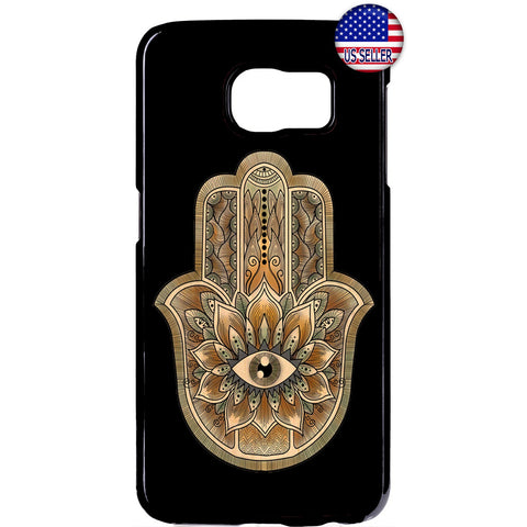 Hamsa Evil Eye Guard Hanna Hipster Rubber Case Cover For Samsung Galaxy