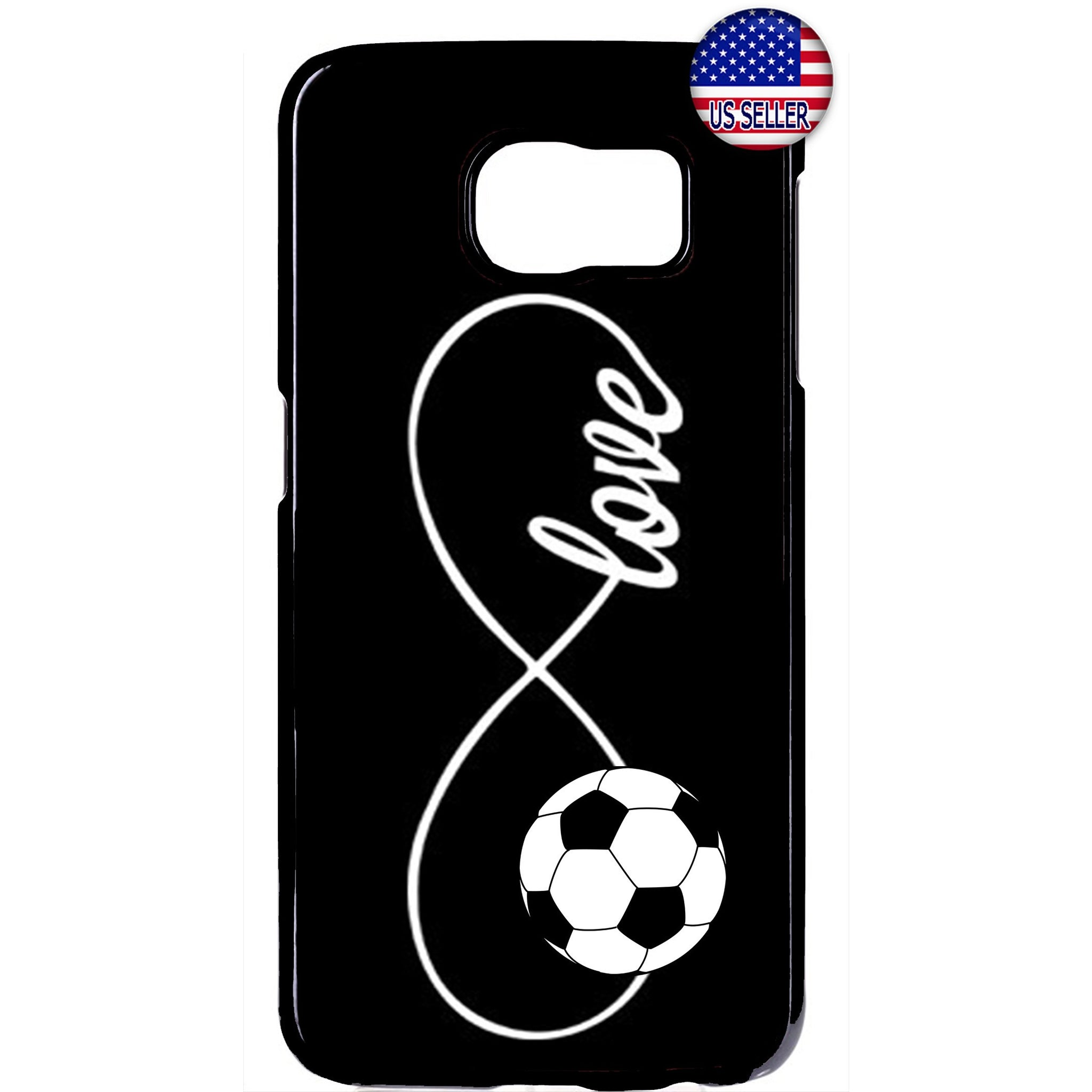 Infinite Forever Love Soccer Sports Rubber Case Cover For Samsung Galaxy