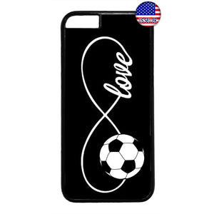 Infinite Forever Love Soccer Sports Rubber Case Cover For Iphone