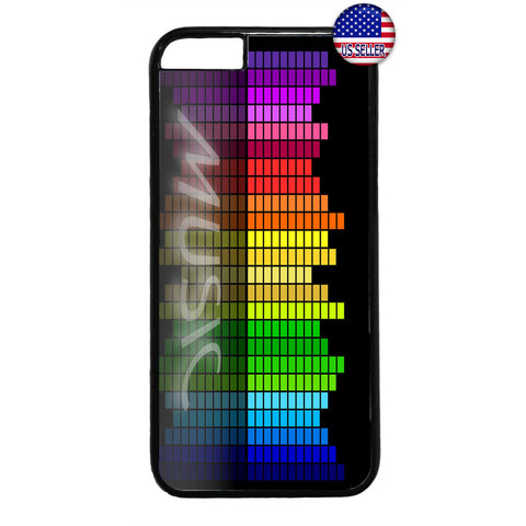 New Fashion Music Retro Rubber Case Cover For Iphone