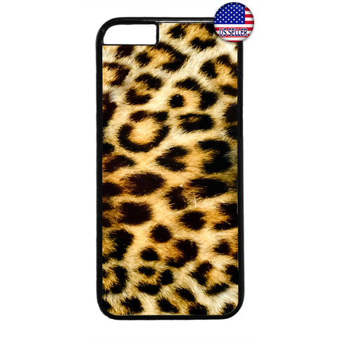 Leopard Tiger Fur Print Wild Animal Rubber Case Cover For Iphone