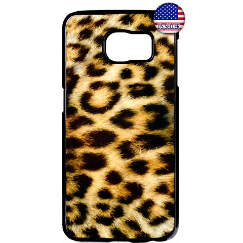Leopard Tiger Fur Print Wild Animal Rubber Case Cover For Samsung Galaxy