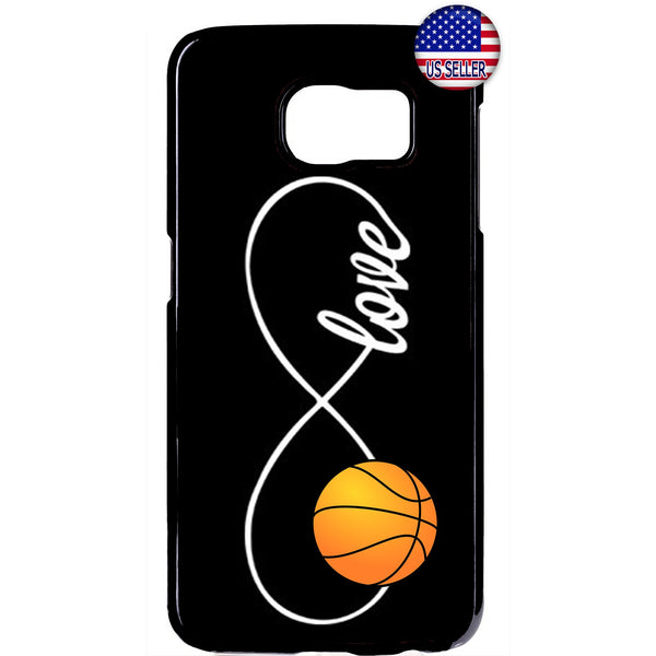 Infinite Forever Love Basketball Sports Rubber Case Cover For Samsung Galaxy