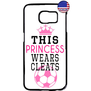 Soccer Princes With Cleats Futbol Rubber Case Cover For Samsung Galaxy Note